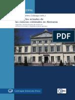 Ambos, Kai y Otros - Desarrollos Actuales de Las Ciencias Criminales en Alemania