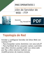 Preparacion SRV WEB FTP