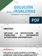 Resolución de problemas 5°