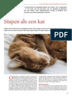 Slapen Als Een Kat