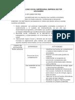 Responsabilidad Social Empresarial Empresa Sector Azucarero
