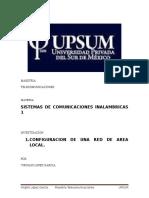 Configuracion Red de Area LocalVLG