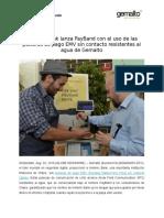 Hellenic Bank Lanza PayBand Con El Uso de Las Pulseras de Pago EMV Sin Contacto Resistentes Al Agua de Gemalto