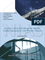 Chinas Anti Ship Ballistic Missile Report - 2011