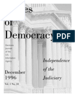 independence of the judiciary
