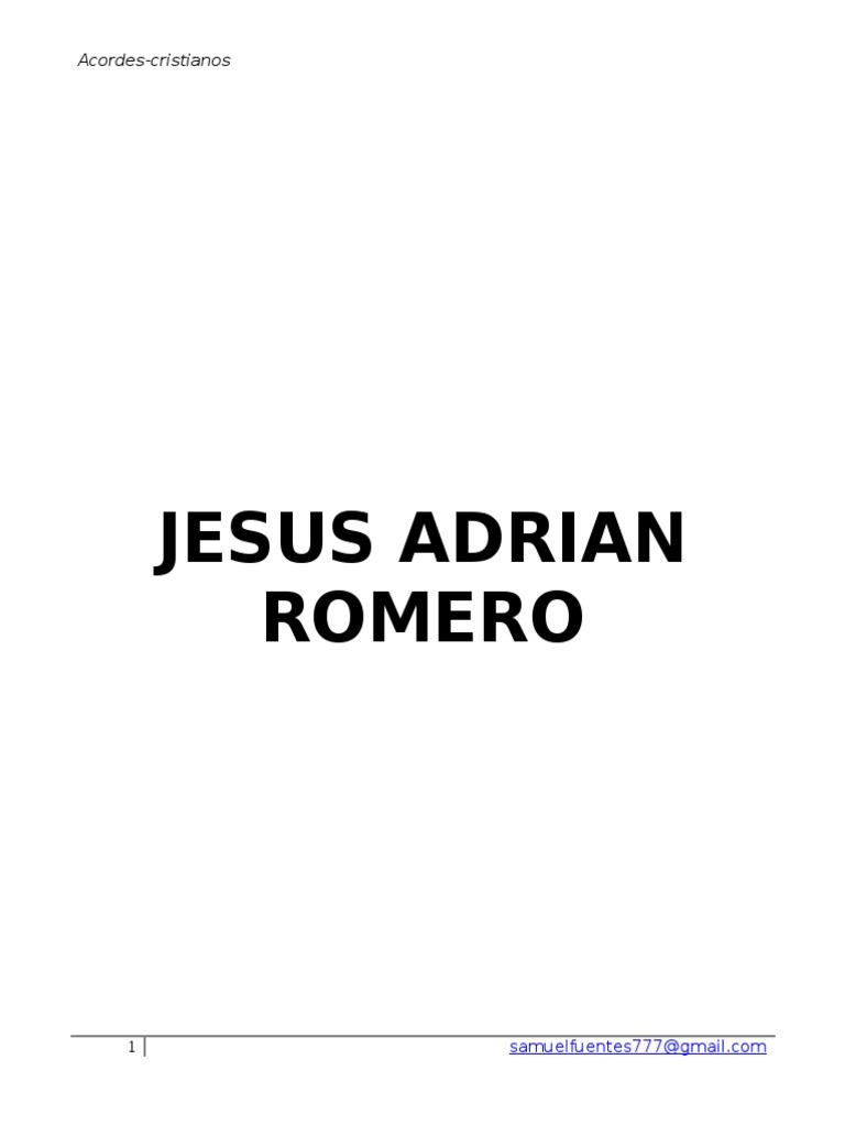 Jesus Adrian Romero 31 Acordes