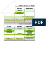Planific Semanal - Rutina Básica