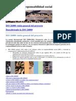 ISO 26000  Responsabilidad Social