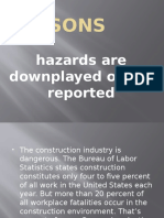 Five Reasons Hazards Are Downplayed or Not Reported