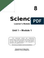 8 Sci LM U1- M1