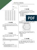 Simulado 15 (Mat. 5º Ano) - Blog Do Prof. Warles