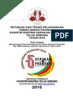 Juknis Kemah Besar Pramuka Tls 2016