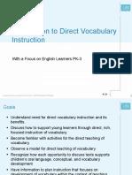 08 Direct Vocabulary Instruction 20130703
