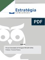 Portugu_s - Fernando Pestana - FGV - Aula 05