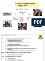 16 8 august principal report