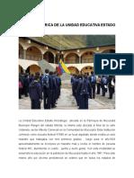 Reseña Histórica de La Unidad Educativa Estado Anzoategui