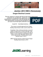 Overcurrent Protection (2014 NEC) (Homestudy) - Or