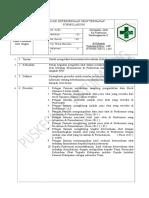 8.2.1.7 SOP Evaluasi Ketersediaan Obat Terhadap Formularium
