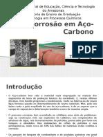 Corrosão Em Aço-Carbono