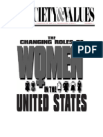 the changing role of women in the US