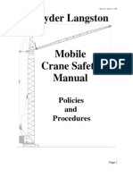 mobile crane safety manual