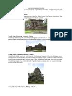 Candi Jawa Tengah & Jawa Timur