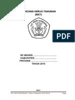 Contoh Format RKT 2015
