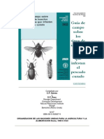 Guia Campo Sobre Tipos de Insectos y Acaros Que Infestan El Pescado Curado