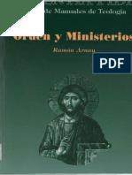 Arnau, Ramon - Orden y ministerios.pdf
