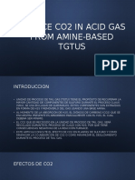 Reduce Co2 in Acid Gas