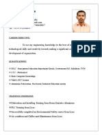 Santhosh- Mechanical Technician