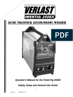 TIG 250EX Operator Manual
