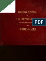 Lima Descripcion Pintoresca