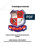User Manual for Student