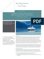 WFW Briefing Credit Enhancement and Shipping Finance
