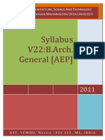 V 22_BArch Gen Syllabus 2010 Pattern (1)