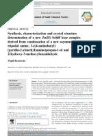 Journal of Saudi Chemical Society (2015)