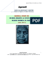 Human Rights & Status of Older Women in India - 2011
