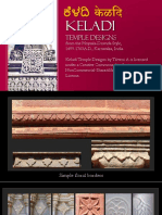 Keladi Temple Designs