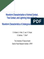 2010 07 Waveform Characteristics of Faults