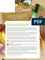 GE True Food Guide 2010