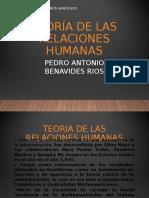 TEORIA RELACIONES HUMANAS