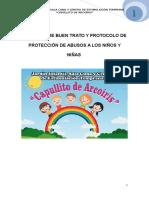 Politicas de Buen Trato y Protocolo de Protección de Abusos a Los Niños y Niñas