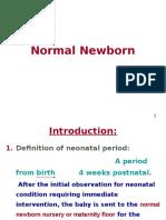 Normal Newborn PP Final