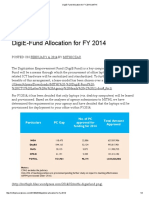 DigiE-Fund Allocation for FY 2014 _ MITHI