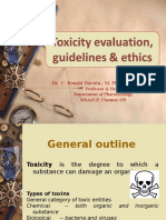 toxicity studies guidelines,
