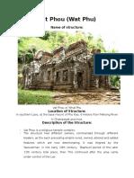 Hoa Report Vat Phou