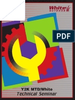 2000 MTD  Service Manual