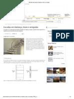 AECweb _ Escadas Em Balanço, Leves e Arrojadas