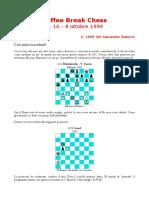 Coffee Break Chess 16